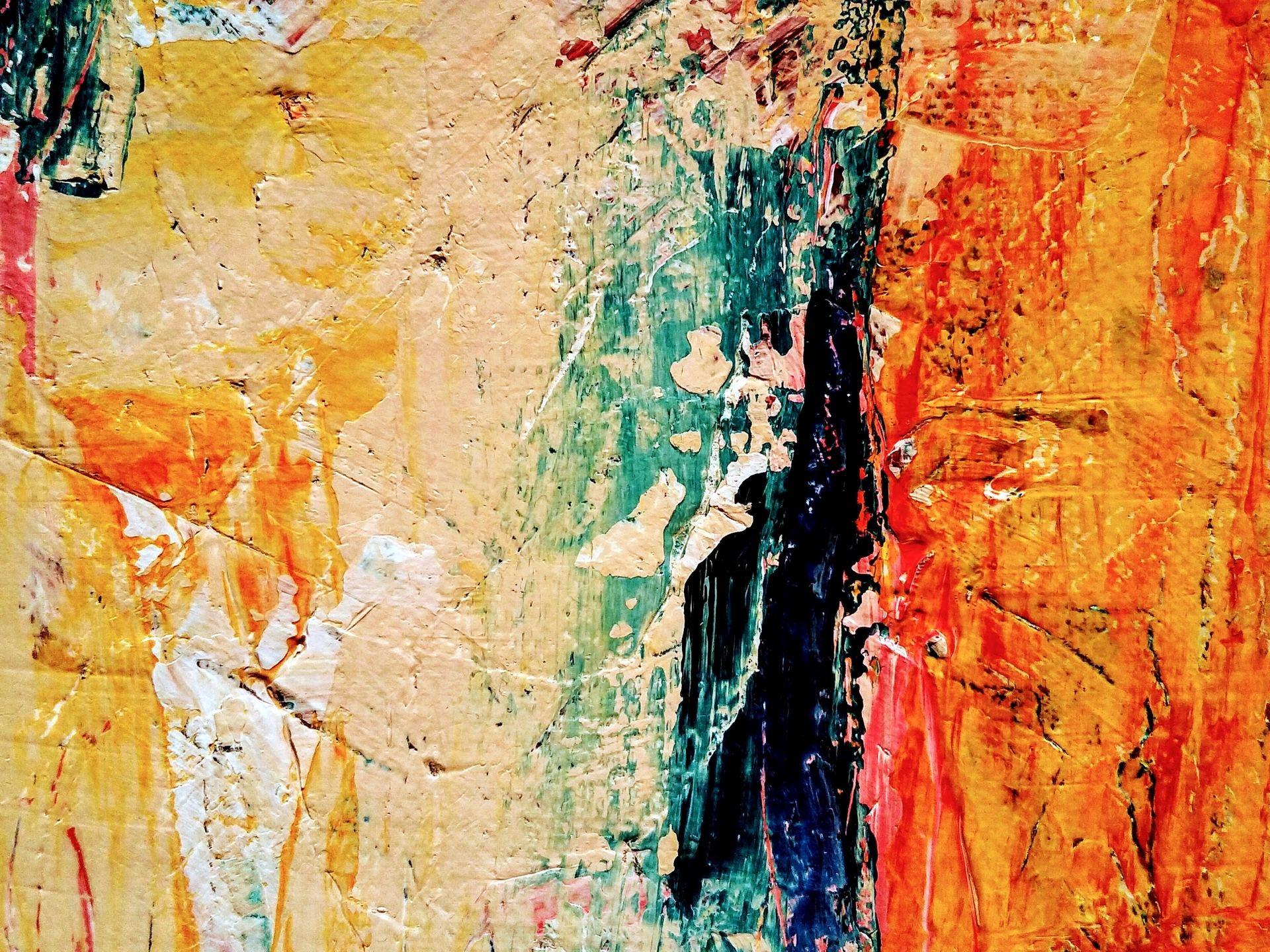 Skapa spänning med abstrakt konst